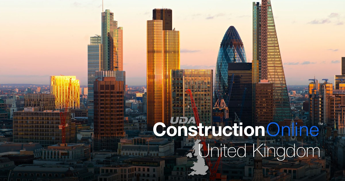UDA Technologies Debuts New ConstructionOnline United Kingdom Site