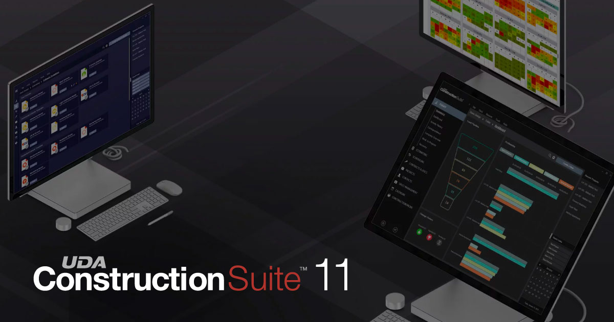 UDA Technologies Announces Release of ConstructionSuite™ 11