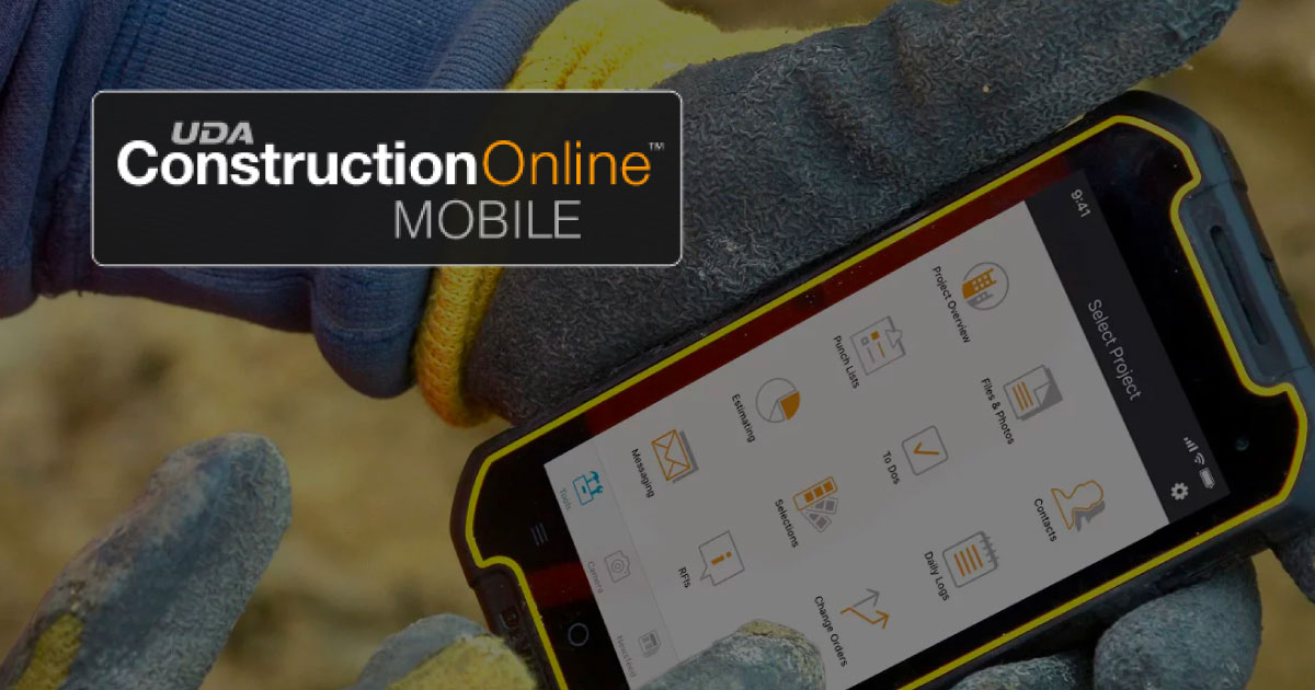 Stay Connected with the New & Improved ConstructionOnline™ Mobile App