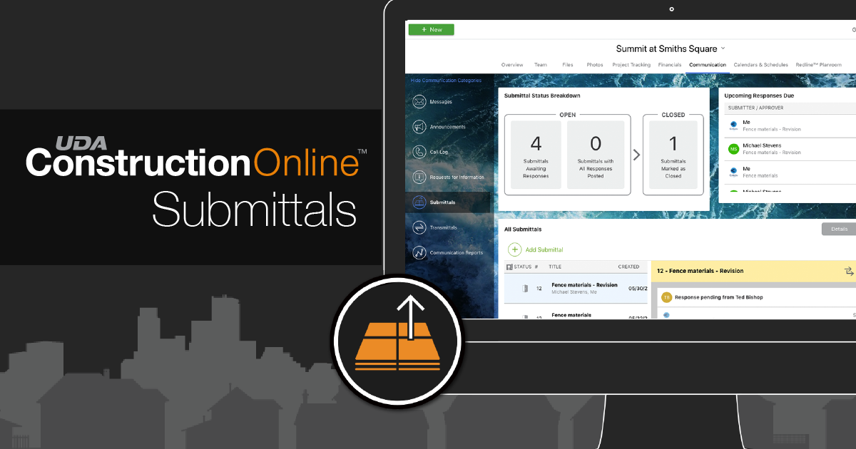 ConstructionOnline Submittals Streamline Project Communication