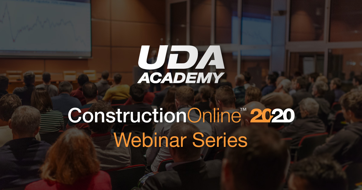 New Webinar Series Introducing ConstructionOnline 2020
