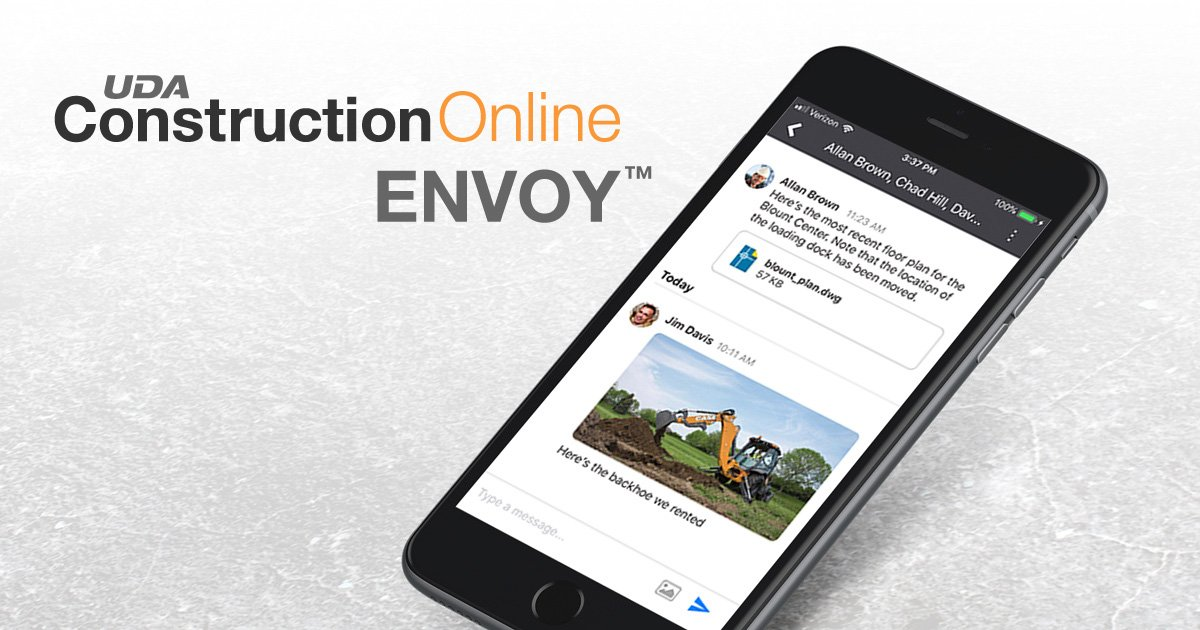 Exclusive Pre-Release: New Envoy™ Chat for ConstructionOnline 2020