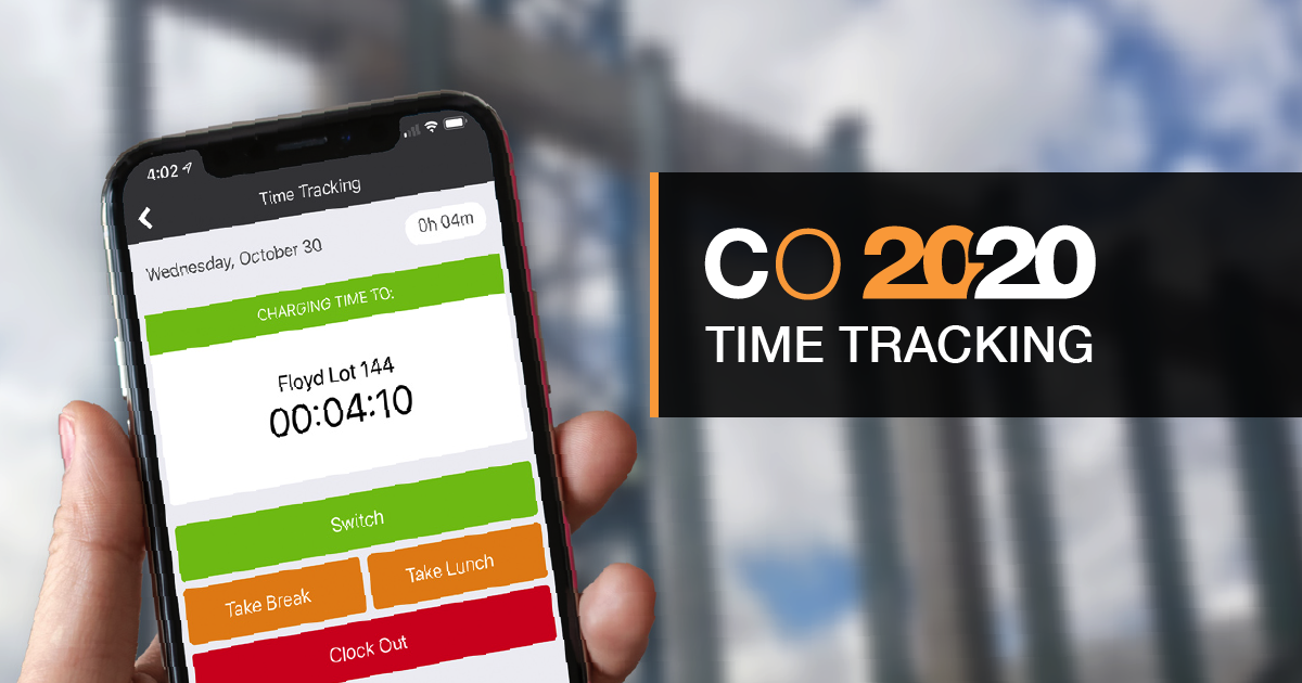 New Time Tracking Now Available for ConstructionOnline + ConstructionOnline Mobile™