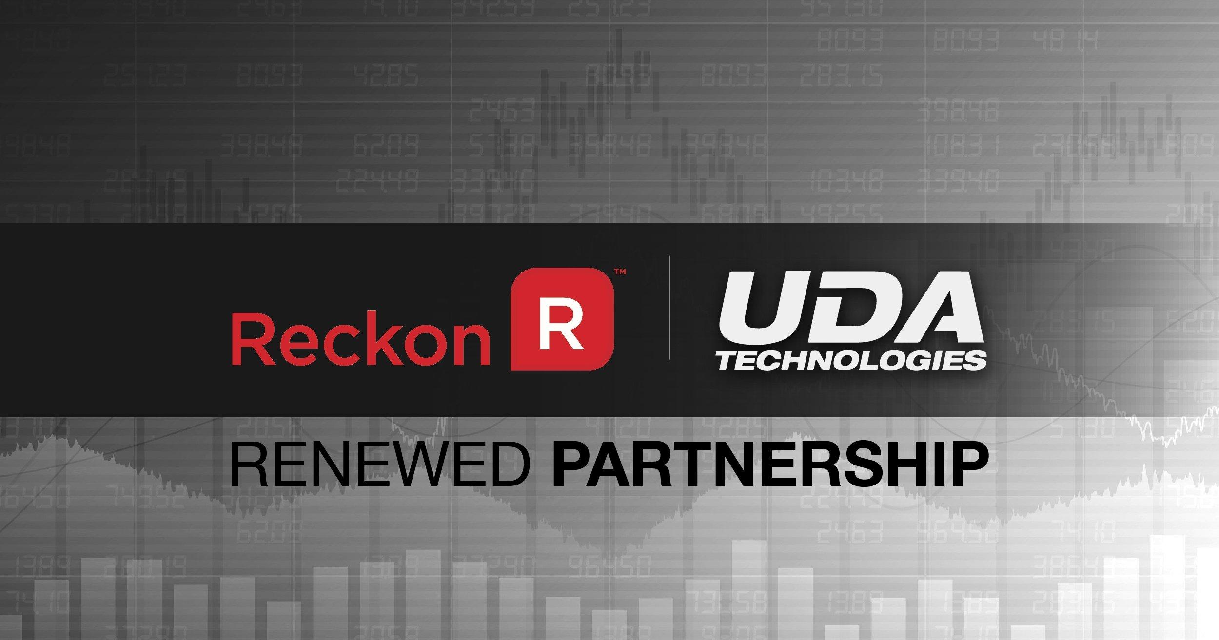 UDA + Reckon Renew Global Partnership