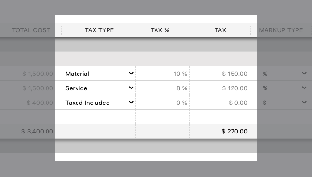 Enhanced Tax Settings Now Available for Change Orders