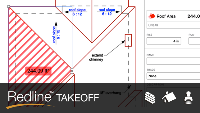 Exciting New Features Added to Redline™ Takeoff