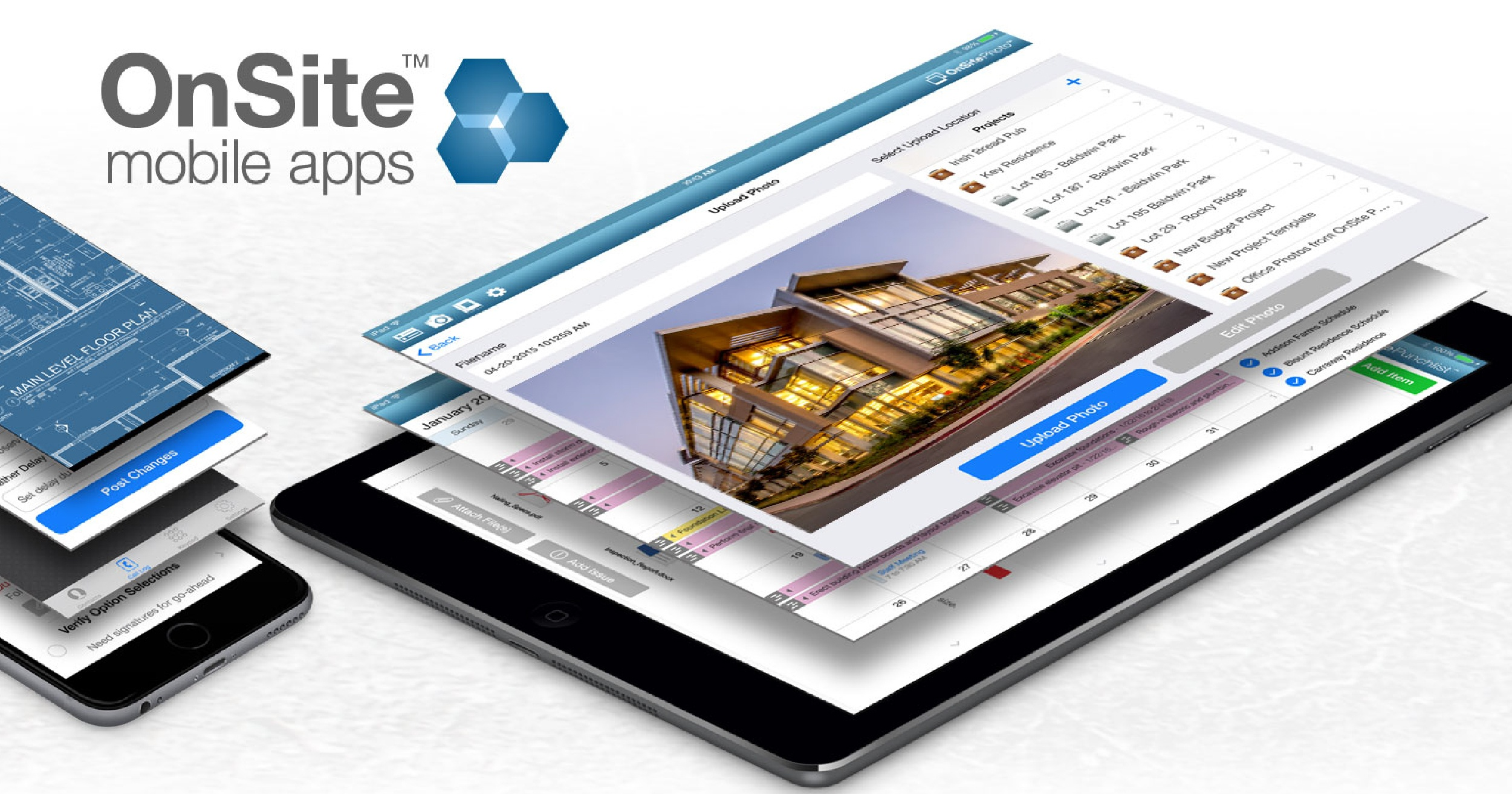 Three OnSite Mobile Construction Apps Featured in Construction Executive Magazine