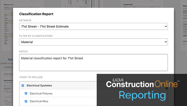 Industry-Leading Construction Estimating Delivers New Classification Report