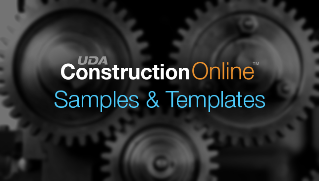 ConstructionOnline Improves User Experience with More Samples & Templates