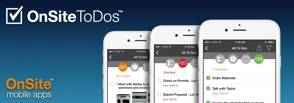 OnSite ToDos™ Updates for iPhone and iPad