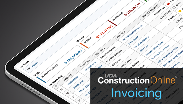 Enhanced Tracking for Construction Invoices Now Available Online