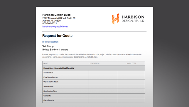 Opportunities Now Include Industry-Leading Request for Quote (RFQ) Report