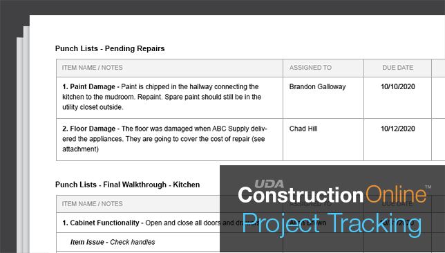 Project Summary Report Expanded to Include Project Tracking Data