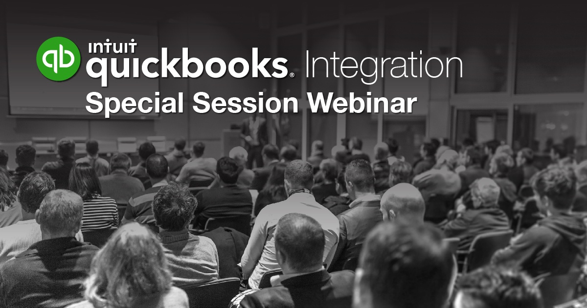 Special Session Webinar to Demonstrate Industry's Most Powerful QuickBooks Integration