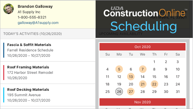 Avoid Resource Conflicts with Advanced Scheduling Tools in ConstructionOnline